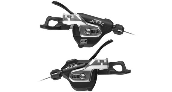 Shimano XTR SL-M980 I-Spec Zestaw klamkomanetek 2/3x10-biegowa czarny/srebrny